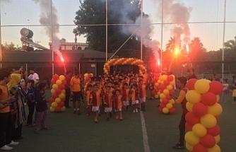 Galatasaray adına Urfa'da gurur tablosu...