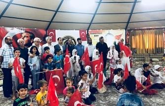 Türkmen Derneğinde kutlandı...