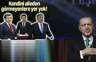 AK Parti yıl dönümünü kutluyor! O üç isim yok…