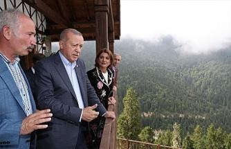 Erdoğan, Ataman'ın otelini açtı