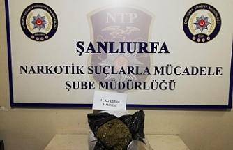 Urfa'da 11 Kg uyuşturucu ele geçirildi