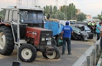 Şnlıurfa'da Kaza Yaralılar Var