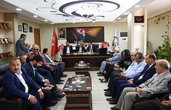 AK Başkan Bahattin Yıldız'dan Başkan Bayık'a ziyaret