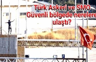 Barış Pınarı Harekatı'nda 6. Gün...