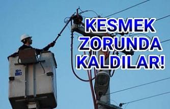 DEDAŞ Urfa'da 6 birliğin elektriğini kesti