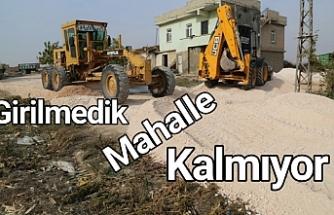 Haliliye kırsalında çalışmalar sürüyor