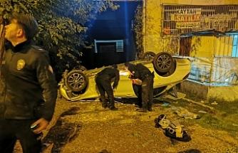 Urfa'da feci kaza! Apartman boşluğuna yuvarlandı