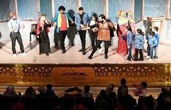 Urfa'da sezonun ilk çocuk oyunu sergilendi