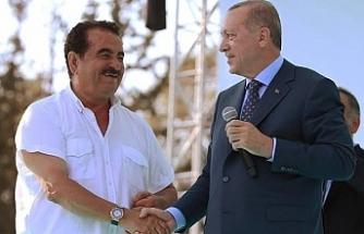 Tatlıses'ten Erdoğan'a övgü dolu sözler...
