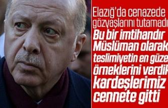 Erdoğan'dan anlamlı sözler...