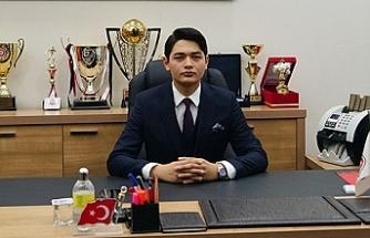 Türkiye'nin en genç başkanı...