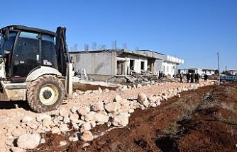 Viranşehir'de çalışmalar aralıksız devam ediyor