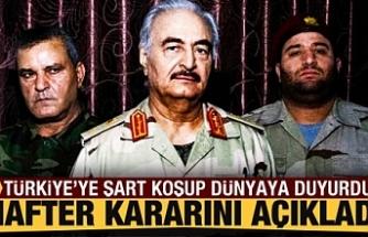 Türk askeri çekilecek dedi...