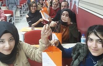 Urfa'da Oryantring eğitimi verildi
