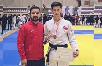 Urfalı Judocu Türkiye 3'cüsü oldu...