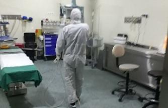 Urfa'da ki pandemi hastanesi teyakkuzda