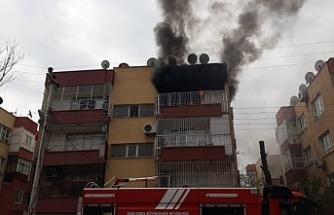 Urfa'da korkutan yangın!
