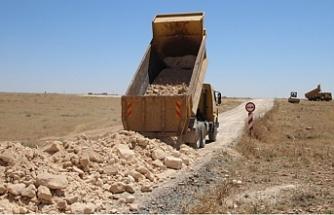 Harran'da yolsuz mahalle kalmıyor!