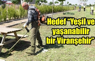 Viranşehir'de hummalı çalışma!