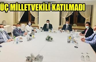Ankara'da Urfa'yı konuştular