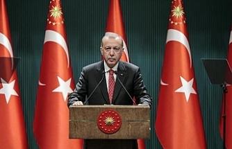 Erdoğan kısıtlamalar bir süre daha devam edecek