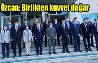 Özcan, Ankara'daki görüşmeyi değerlendirdi