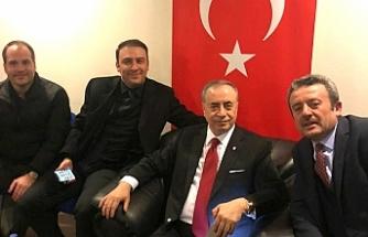 Urfalı iş adamı Güneş Galatasaray'da...