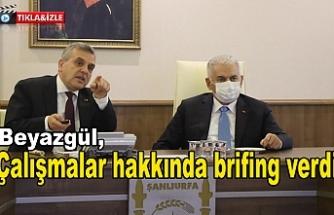 Binali Yıldırım Büyükşehir'de...