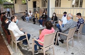 BESYO Öğrencilerinden Başkan Bayık'a teşekkür ziyareti