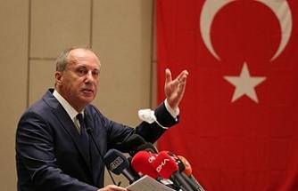 İnce'den CHP'ye tepki: Parti her hafta bir skandalla uğraşıyor!