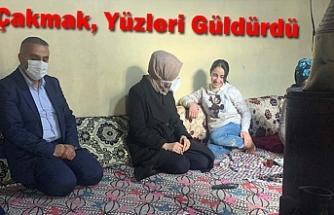Lösemi Hastası aileye destek verdi