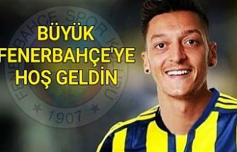 Mesut Özil Fenerbahçe'de...