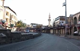 Urfa'da sabah saatlerinde sessizlik