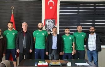 Urfaspor'da 4 futbolcu transfer edildi
