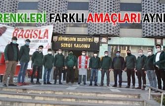 Yeşilay'dan Kızılay'a destek...
