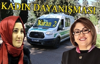 Fatma Şahin Siverek'e cenaze arabası gönderdi