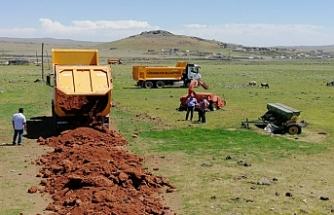 Viranşehir kırsalında çalışmalar sürüyor