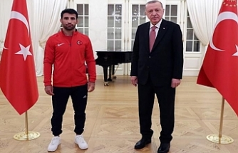 Erdoğan Urfalı ismi ağırladı...