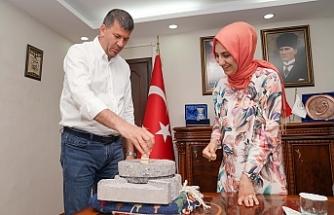 CHP'li Urfalı Başkan, Çakmak'ı ziyaret etti