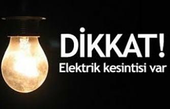Karaköprü'de 65 mahallede elektrikler kesilecek