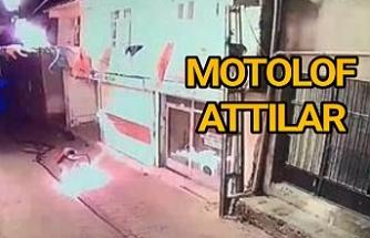 Provakatifler bu kez AK Parti binasına saldırdı