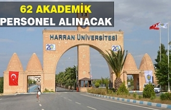 Harran Üniversite ilana çıktı...
