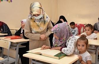 Hilvan'da yaz Kur'an kursları başladı