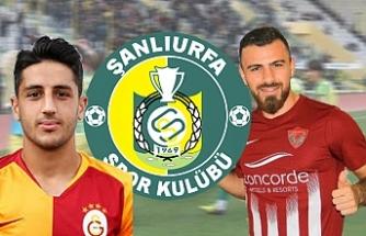 Süper Lig takımlarından 2 futbolcu Urfaspor'a geliyor