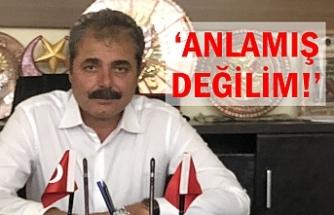 AK Partili Başkan sitem etti!