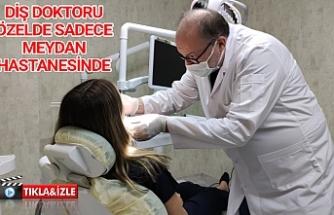 Özel Meydan Hastanesi'nde göreve başladı