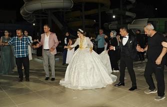 Sınırda muhteşem düğün