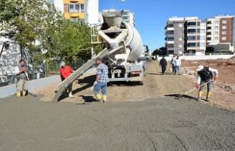 Siverek'te yeni yerleşimlerinde çalışmalar sürüyor