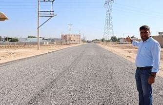 Suruç Dinlence Mahallesi asfalta kavuştu