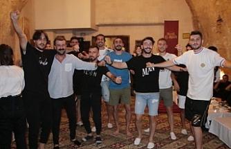 Urfasporlu futbolcular kurtlarını döktü